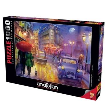 Anatolian  Puzzle 1000 Parça Paris'de Bir G 1070 Renkli